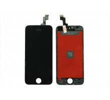 Дисплей iPhone 5S/iPhone SE + тачскрин черный (LCD Копия)