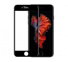 Защитное стекло iPhone 6/6S 6D (тех упак) черное