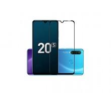 Защитное стекло Huawei P30 Lite/Nova 4e/Honor 20S/20 Lite (RU) Full черное
