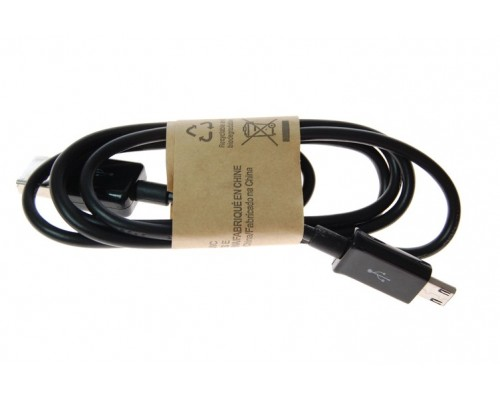 Кабель microUSB - USB черный