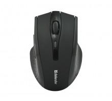 Беспроводная оптическая мышь Defender Accura MM-665 черная, 6 кнопок, 800-1600dpi