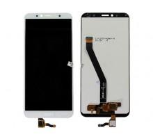 Дисплей Huawei Honor 7A Pro + тачскрин белый